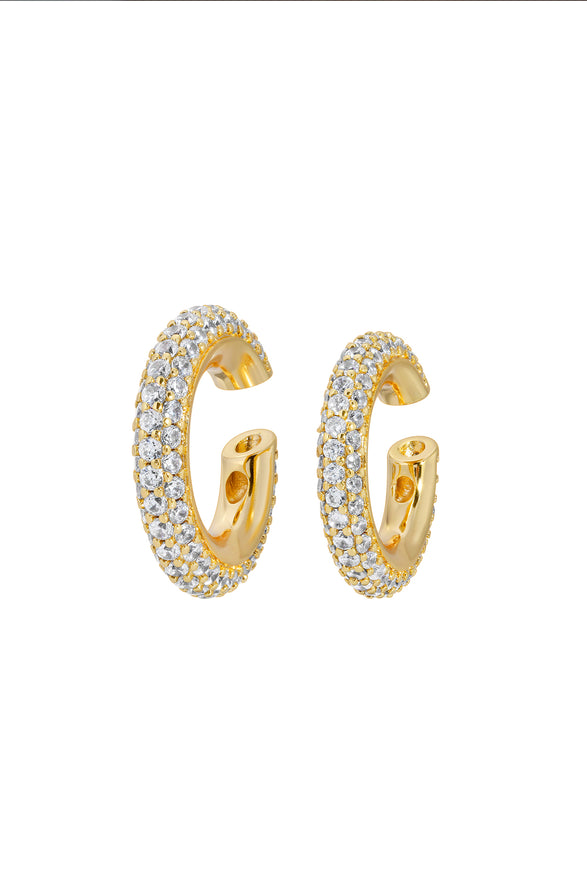 CAMI EAR CUFF SET, PAVE