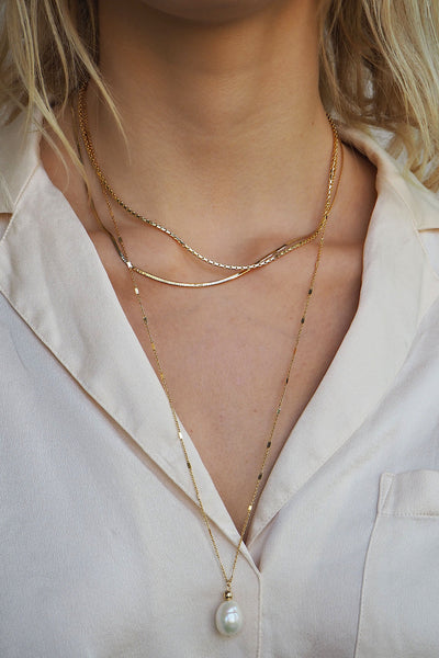 LEELA CHAIN SET| GOLD