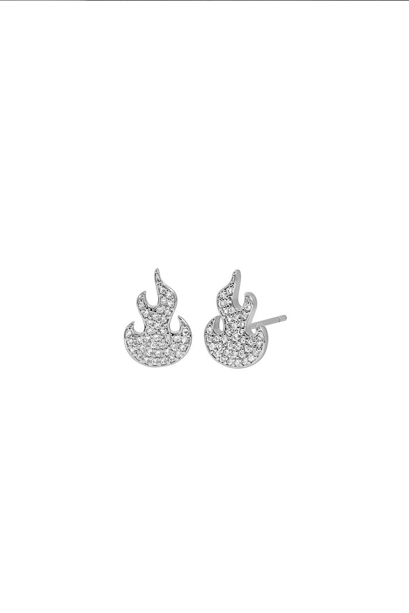 BABY FLAME STUDS