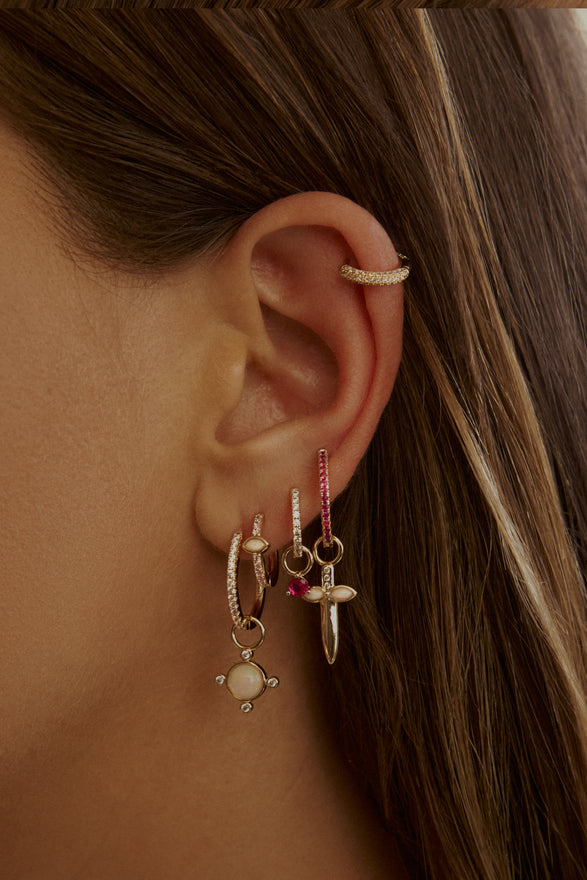 ORION GEM EARRING CHARM