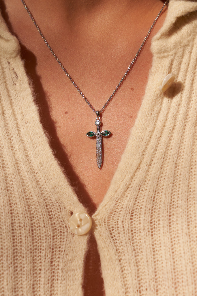 DOUBLE CROSS LAYERS | SILVER