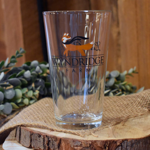 Wyndridge Farm Pint Glass