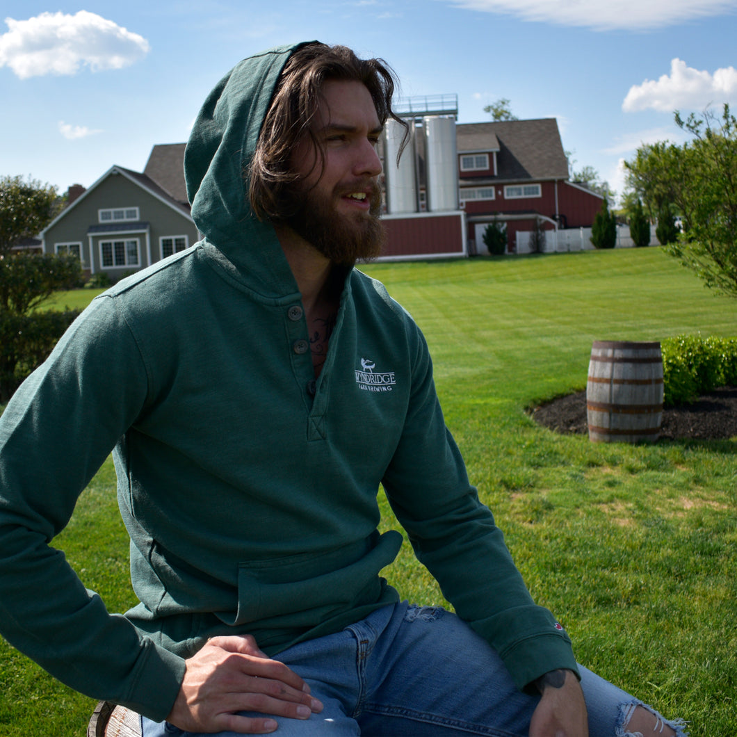 Wyndridge Farm Brewing Vinyard Hooded Henley