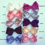 Luxe Satin Trixie Bow Hairclip