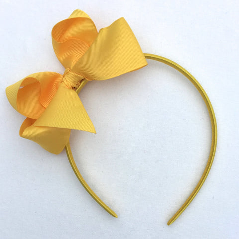 Sunshine Trixie Bow Headband