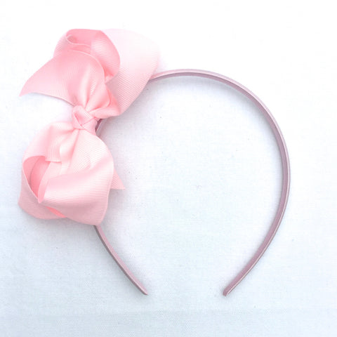 Pink Trixie Bow Headband