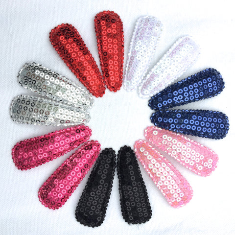 Sequins Snap Clips (Twinsets)