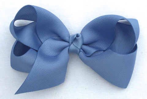The Trixie Bow - French Blue
