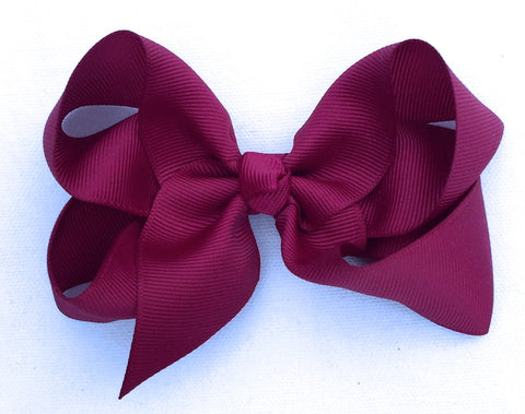 The Trixie Bow - Garnet