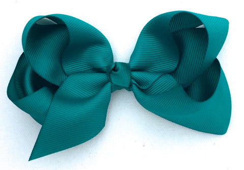 The Trixie Bow - Mallard Green