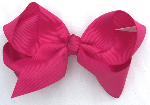 The Trixie Bow - Raspberry
