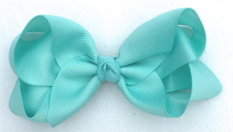 The Trixie Bow - Aqua