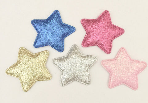 Glitter Star Hairclip