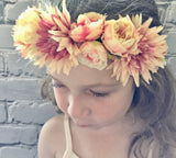 Flower Crown headband - limited Edition