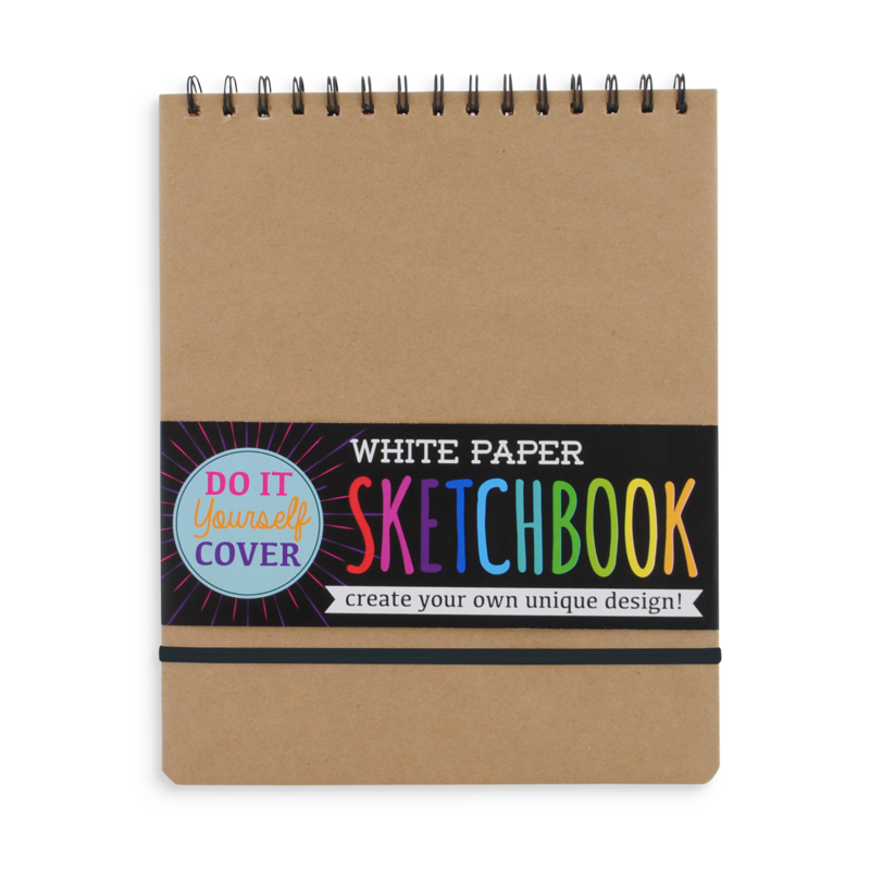 White Paper DIY Sketchbook