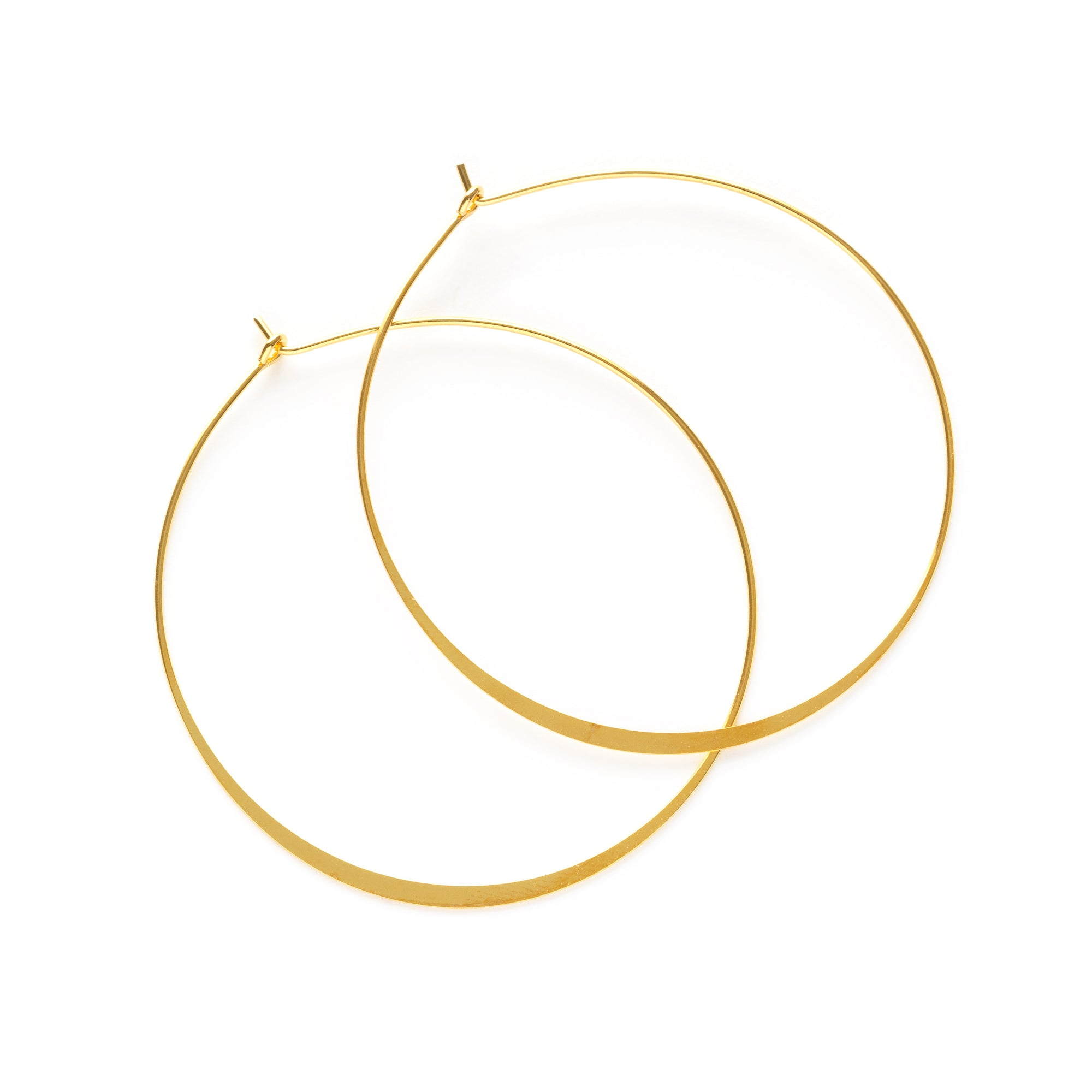 Amano Studio 2 Inch Gold Hoops