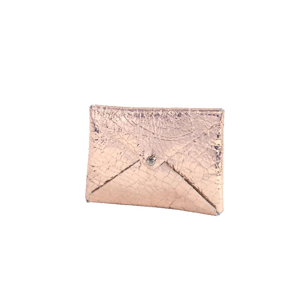 Tracey Tanner Andie Envelope Wallet - Rose Gold Distress