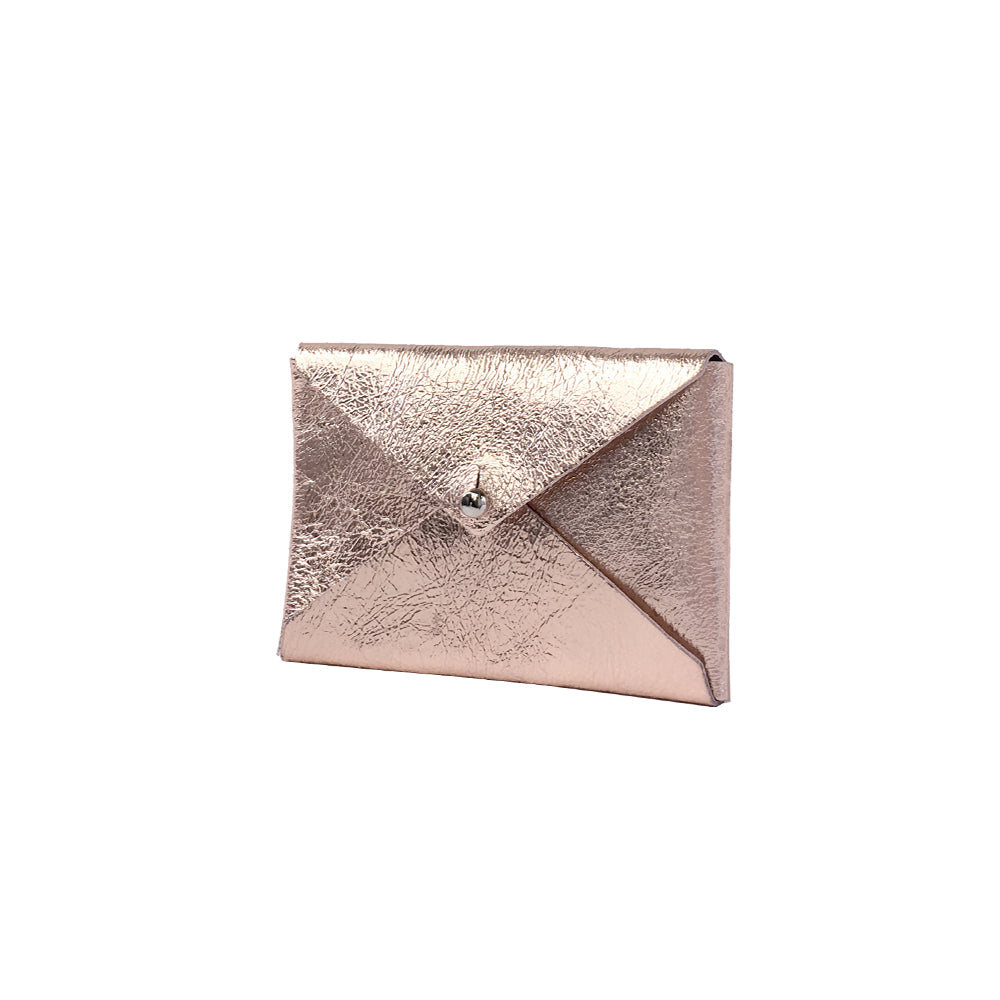 Tracey Tanner Andie Envelope Wallet - Rose Gold / Blush