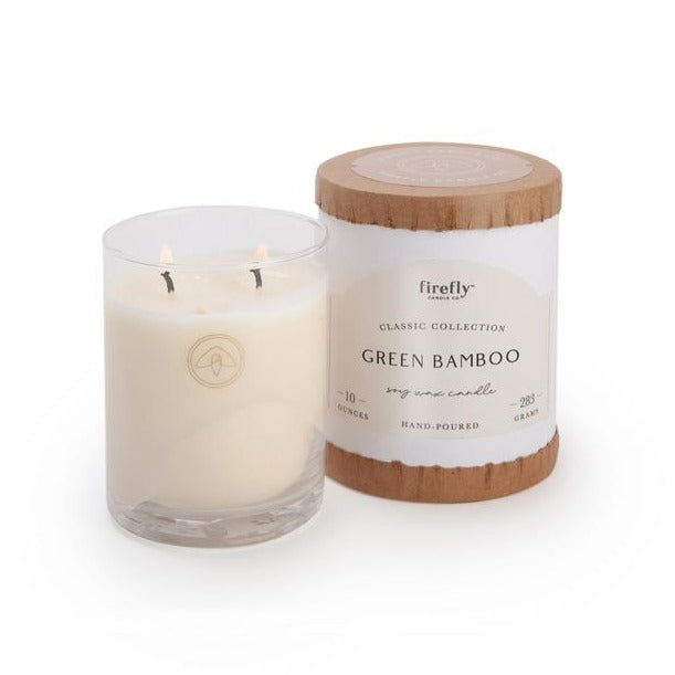 Classic 10oz Candle Green Bamboo