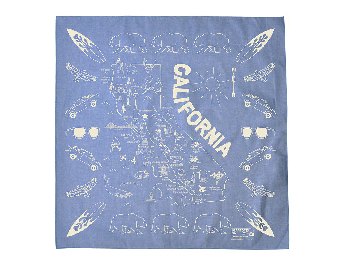 California Bandana - Chambray