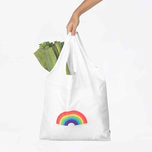 Go Green Eco-Friendly Reusable Bag - Rainbow