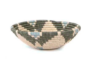 Small Gray/Green Hope Basket