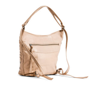 Greta Multi Hobo - Almond