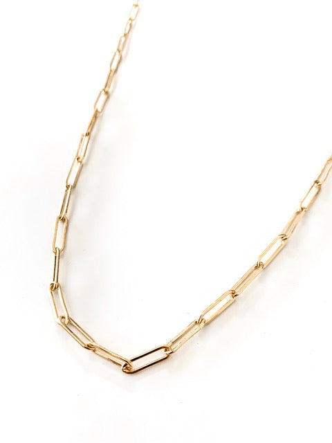 Riley Chain Link Necklace