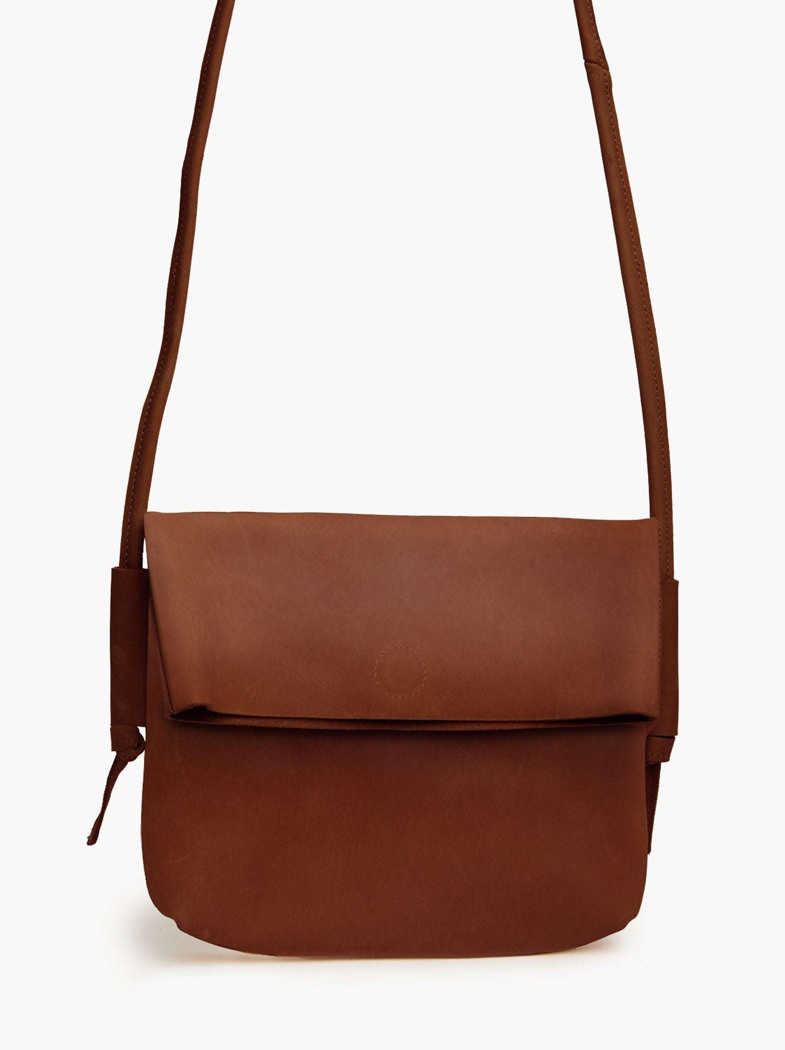 Lomi Foldover Crossbody - Whiskey