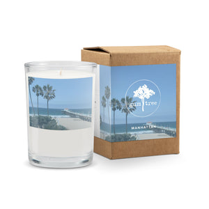 "Gum Tree ""Manhattan Beach"" Candle - Sea Salt & Jasmine"