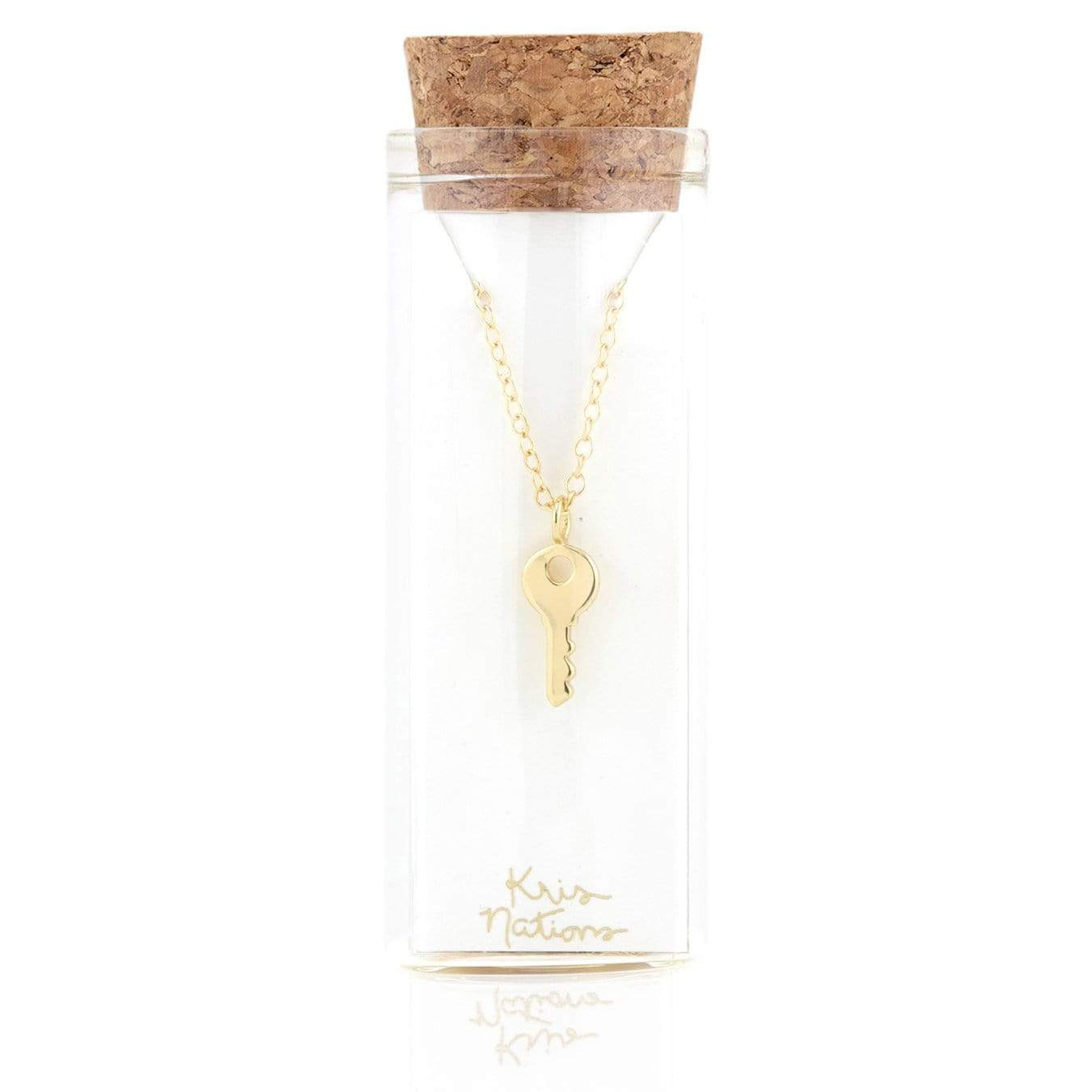Kris Nations Key Charm Necklace
