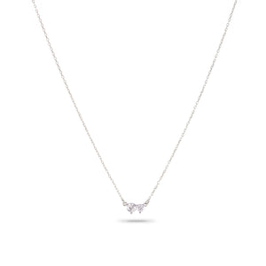 Adina Reyter 2 Diamond Amigos Sterling Silver Necklace