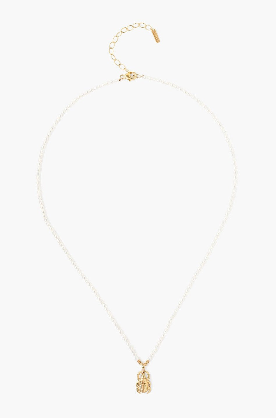 Chan Luu White Pearl Necklace