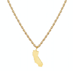 Kris Nations California State Necklace