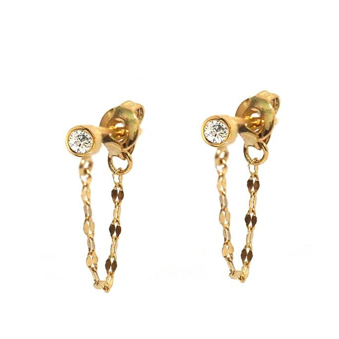 Tai Drop Earring with Chain