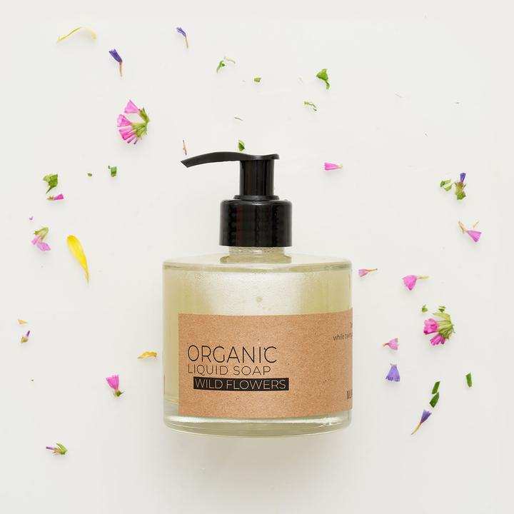 Wild Flowers Organic Liquid Soap