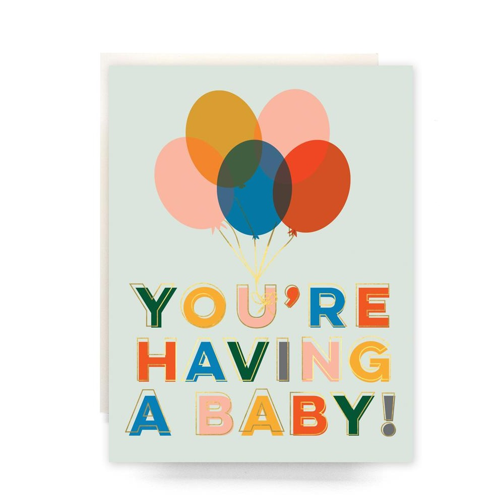 You're Having A Baby! Card