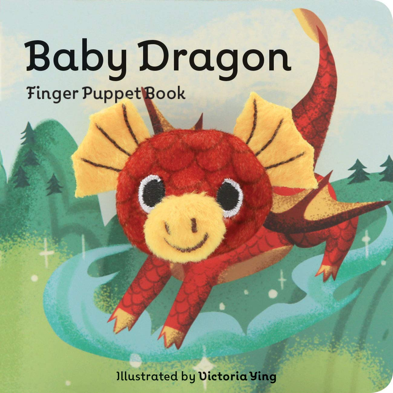 Baby Dragon Finger Puppet Book