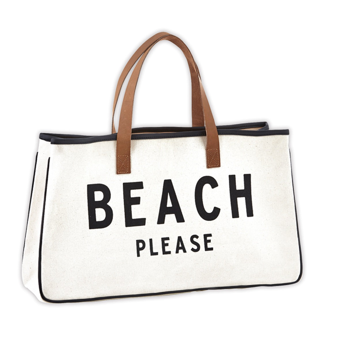 Canvas Tote Beach Please