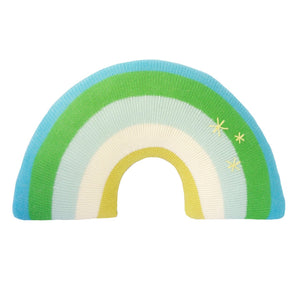 Bla Bla Pillow - Rainbow Blue