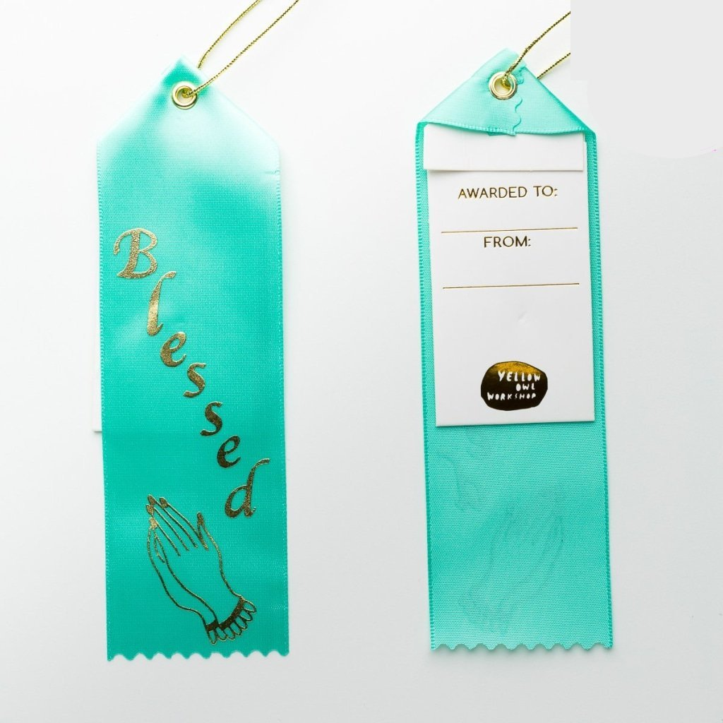 Blessed Award Ribbon
