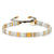 Tai Block Party Bracelet - Gray/White