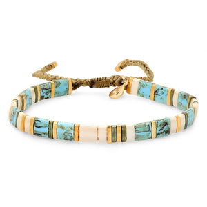 Tai Block Party Bracelet - Turquoise