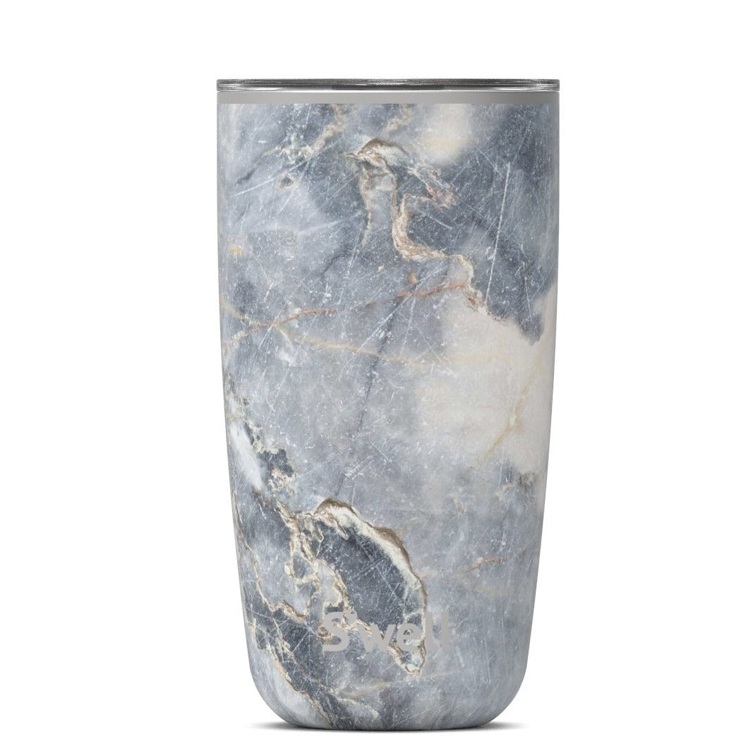 S'Well 18oz Blue Granite Tumbler with Lid