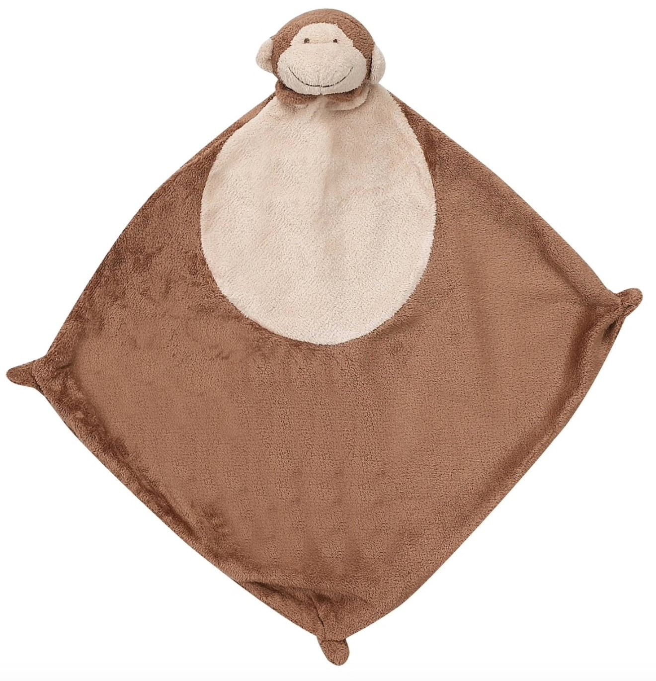 Brown Monkey Blankie