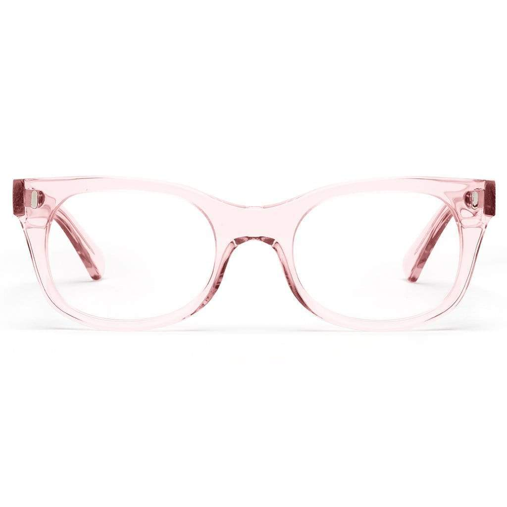 Caddis Reading Glasses - Bixby / Polished Clear Pink