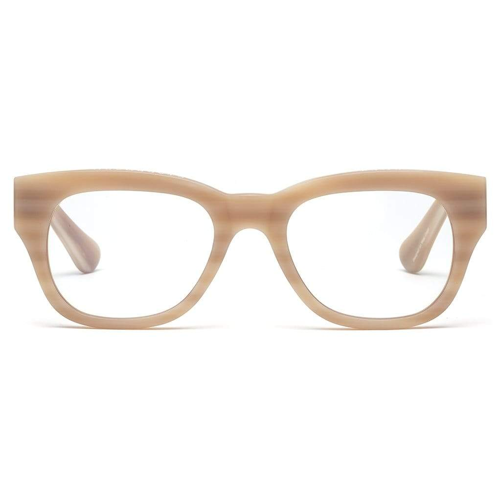 Caddis Reading Glasses - Miklos / Matte Bone