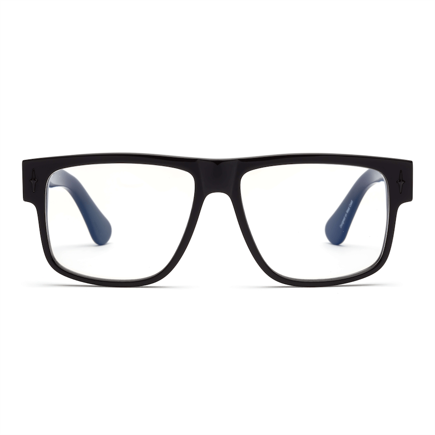 Caddis Reading Glasses - Mister Cartoon / Gloss Black