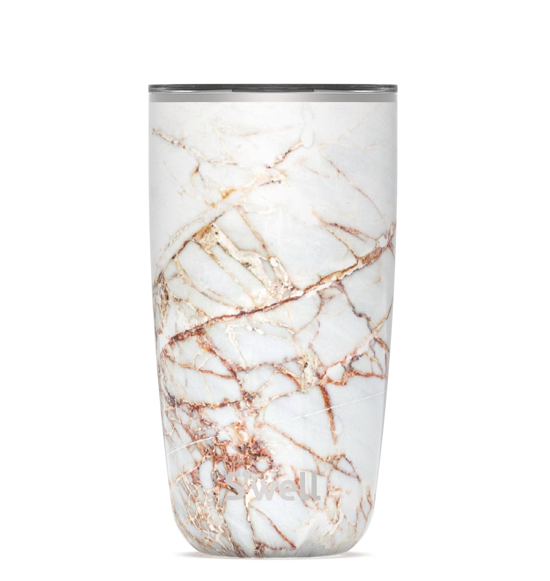 S'Well 18oz Calacatta Gold Tumbler with Lid