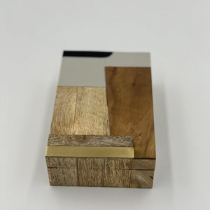 Cape Town Inlaid Mango and Sheesham Wood Box